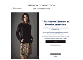 frenchconnection.studentbeans.com