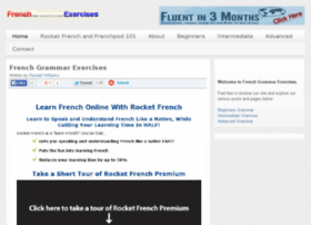 frenchgrammarexercises.com