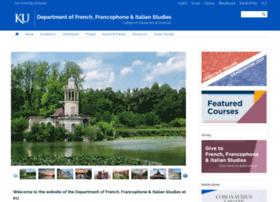 frenchitalian.ku.edu