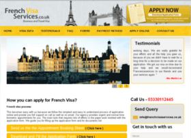 frenchvisaservices.co.uk
