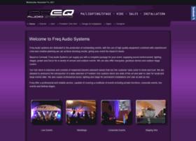 freqaudiosystems.co.uk