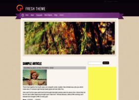 fresh-theme.techsaran.com