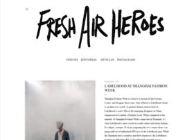freshairheroes.com