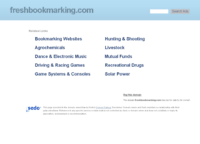 freshbookmarking.com
