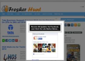fresherhunt.com