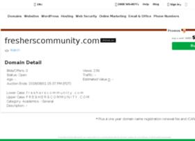 fresherscommunity.com