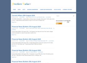 freshersvalue.com