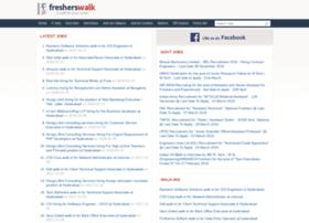fresherswalk.com