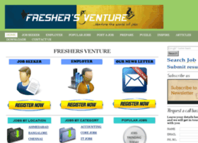 fresherventure.net