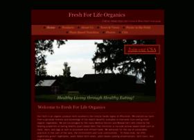 freshforlifeorganics.com