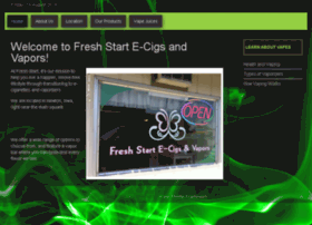 freshstartvapors.com