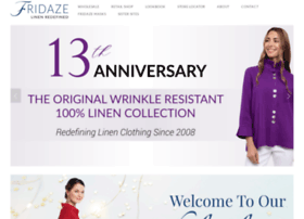 fridazeclothing.com