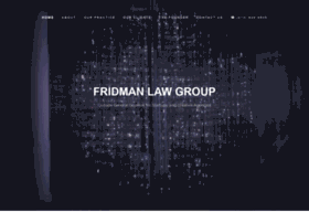 fridmanlawgroup.com