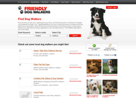 friendlydogwalkers.com