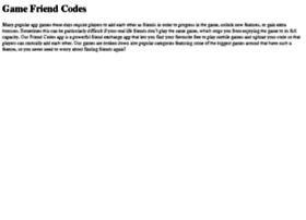 friendscodes.com