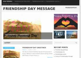 friendshipdaymessage.com