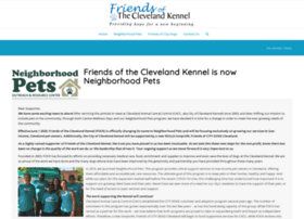 friendsofclevelandkennel.com