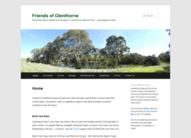 friendsofglenthorne.org.au