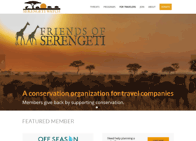 friendsofserengeti.org
