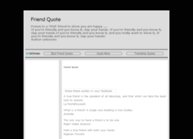 friendsquotesland.com
