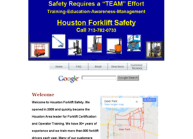 friendswood.houstonforkliftsafety.com