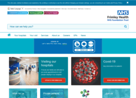 frimleypark.nhs.uk