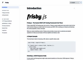 frisbyjs.com
