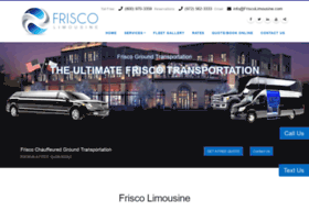 friscolimousine.com