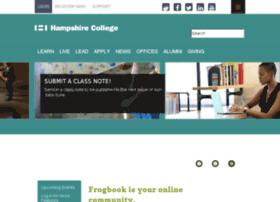frogbook.hampshire.edu