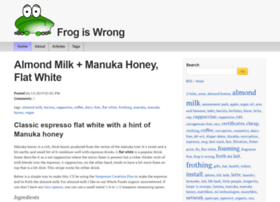 frogiswrong.com