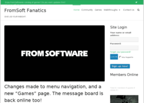 fromsoftfanatics.com