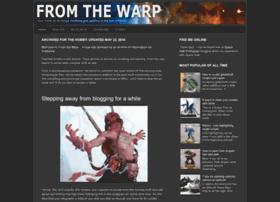 fromthewarp.blogspot.com