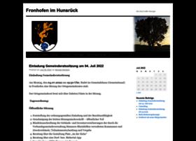 fronhofen.info