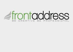 frontaddress.com