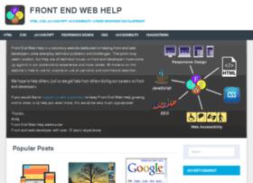 frontendwebhelp.com