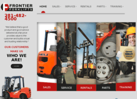 frontierforklifts.com