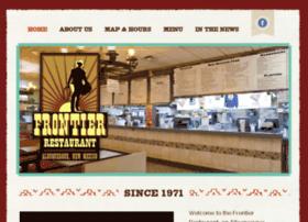 frontierrestaurant.com