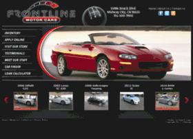 frontlinemotorcar.com