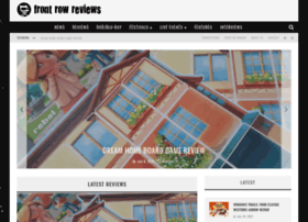 frontrowreviews.co.uk