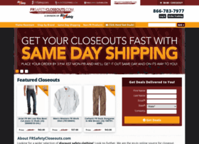 frsafetycloseouts.com