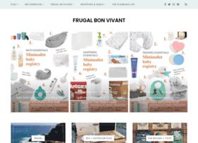 frugal-bonvivant.com
