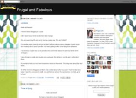frugal-fabulous.blogspot.com