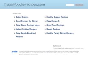 frugal-foodie-recipes.com