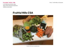 fruitfulhillscsa.com