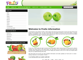 fruitsinformation.com