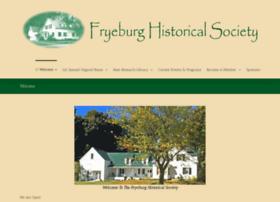 fryeburghistorical.org