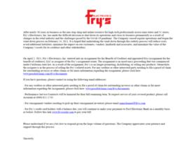 fryes.com
