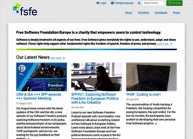 fsfe.org