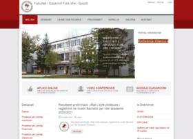 fshs.uni-pr.edu