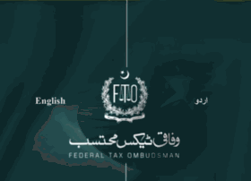 fto.gov.pk